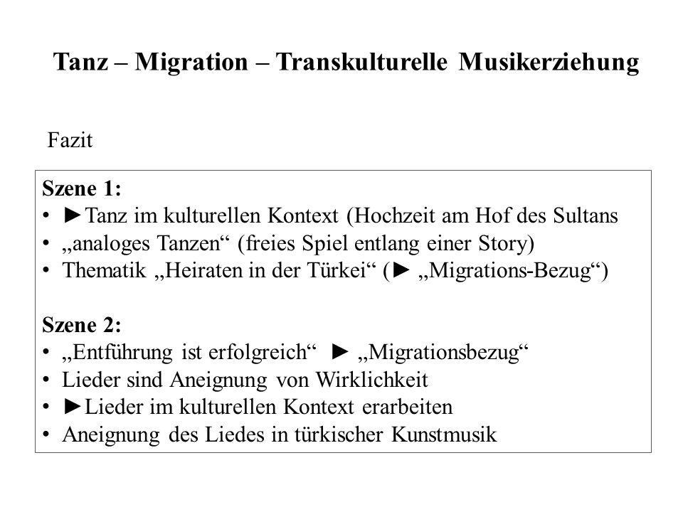 Tanz – Migration – Transkulturelle Musikerziehung
