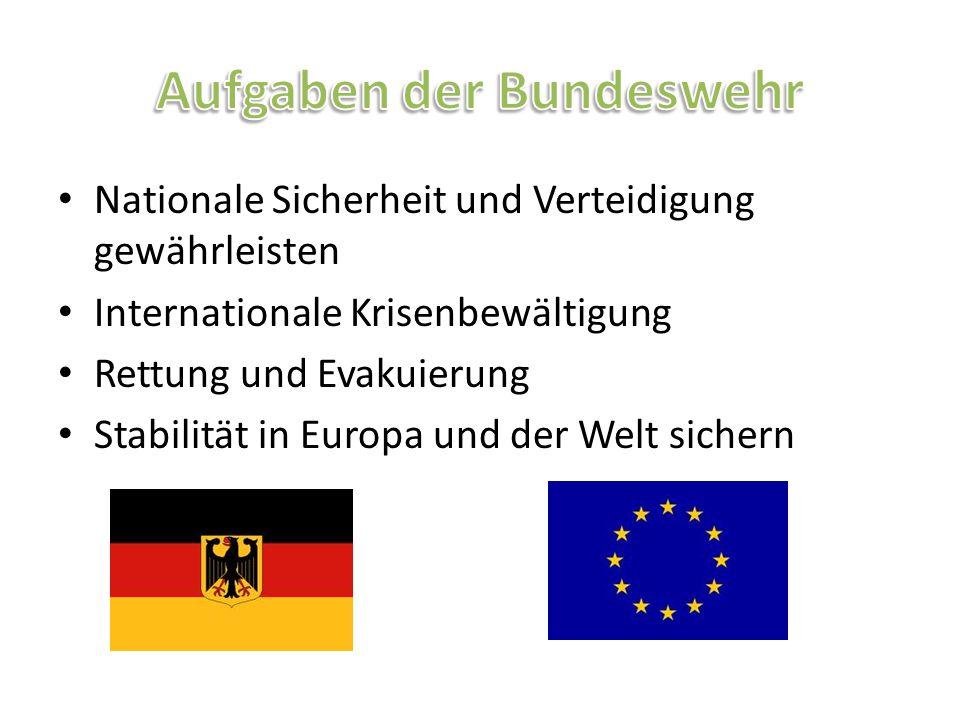 Aufgaben der Bundeswehr