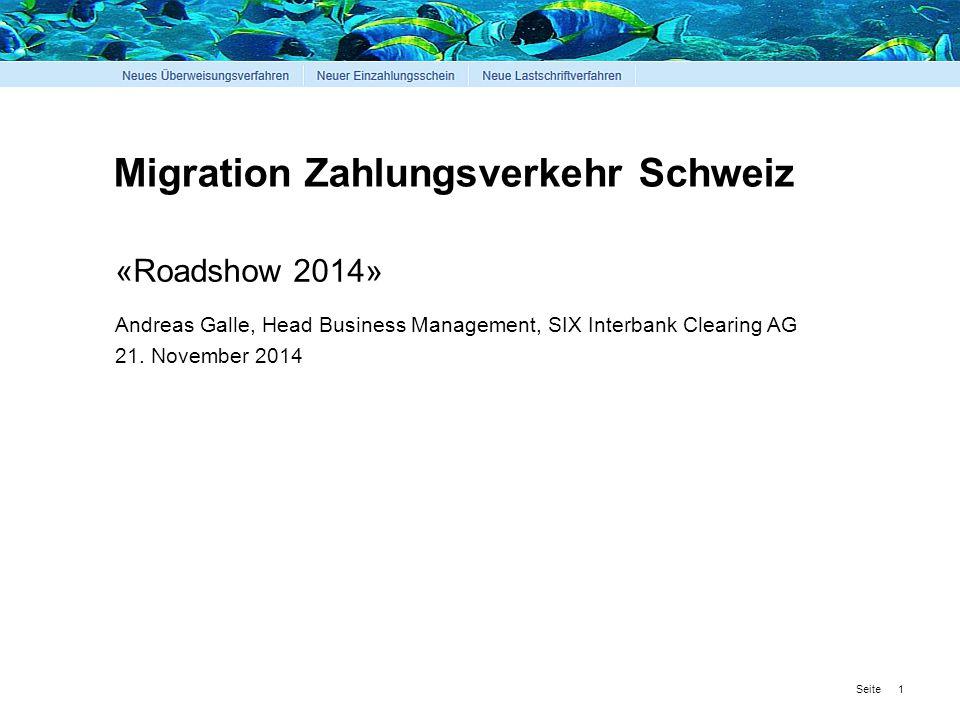 Migration Zahlungsverkehr Schweiz