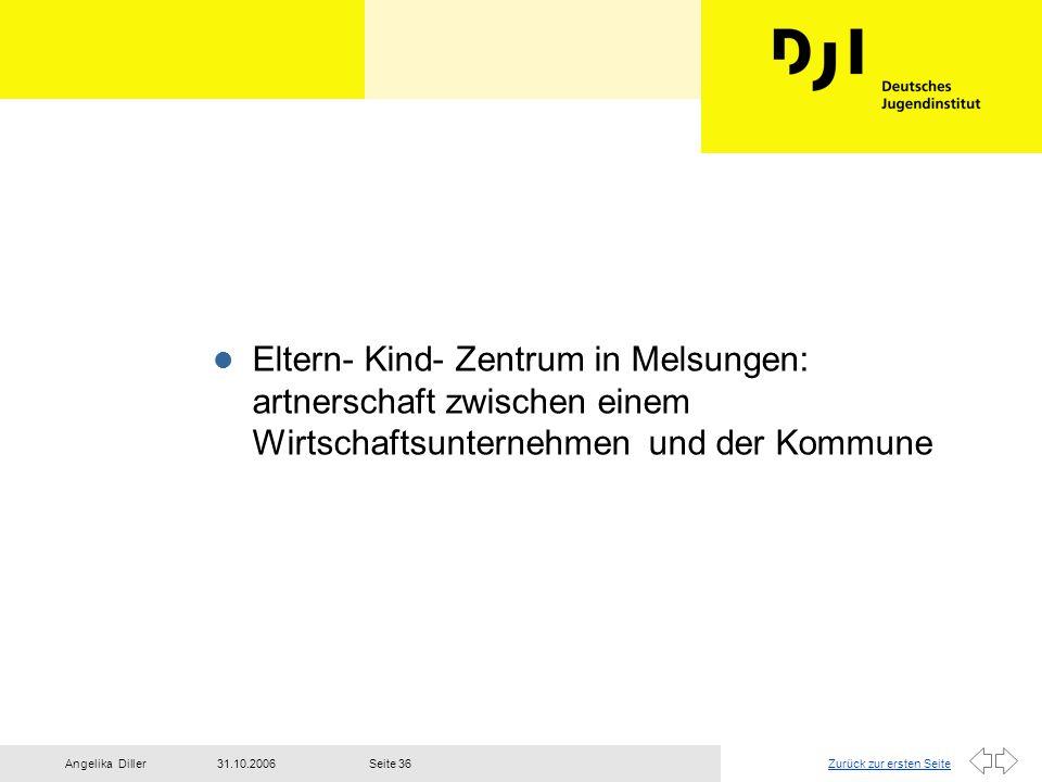 Eltern- Kind- Zentrum in Melsungen: artnerschaft zwischen einem Wirtschaftsunternehmen und der Kommune