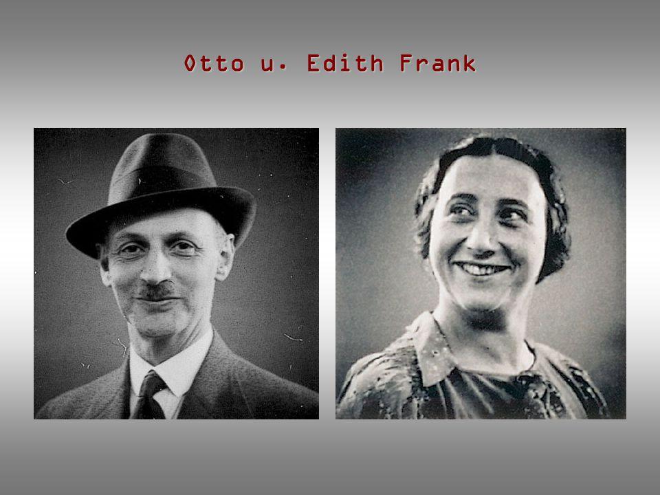 Otto u. Edith Frank