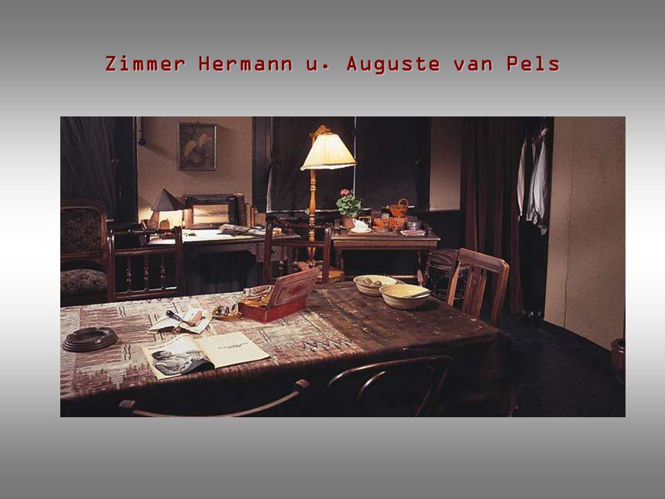 Zimmer Hermann u. Auguste van Pels
