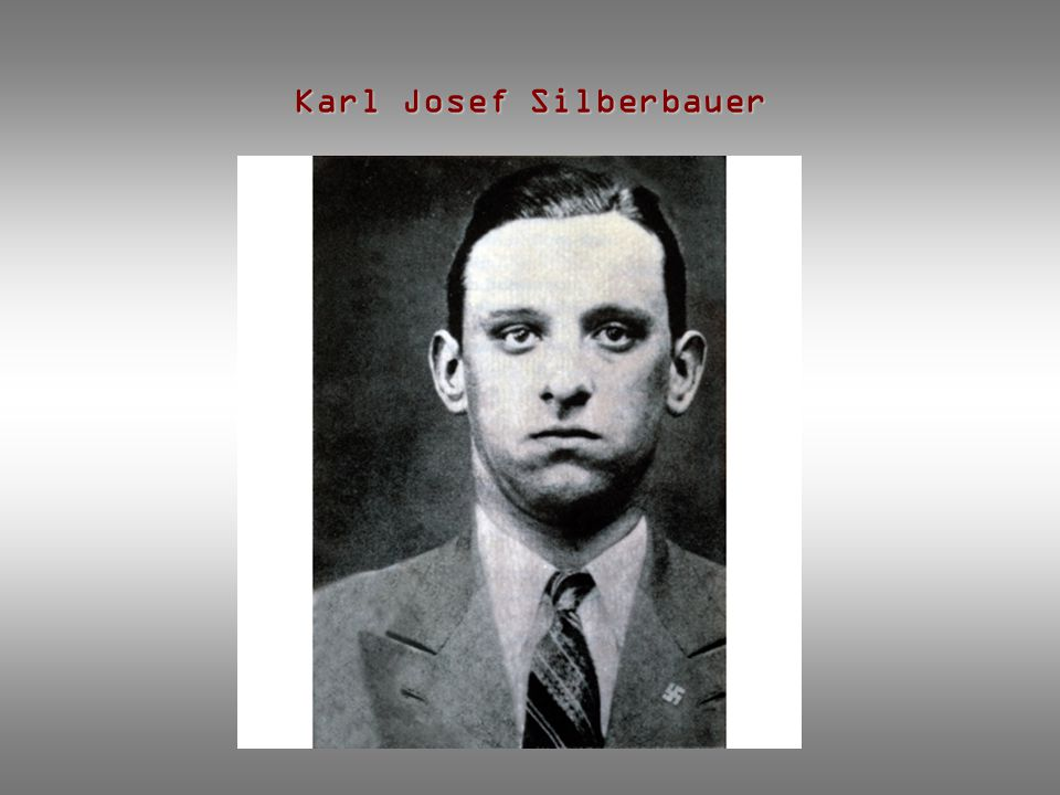 Karl Josef Silberbauer