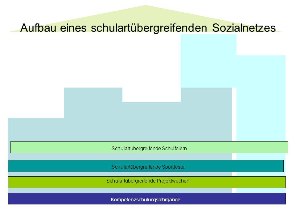 Aufbau eines schulartübergreifenden Sozialnetzes