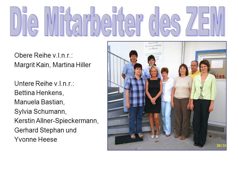 Die Mitarbeiter des ZEM