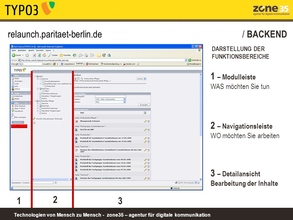 relaunch.paritaet-berlin.de / BACKEND