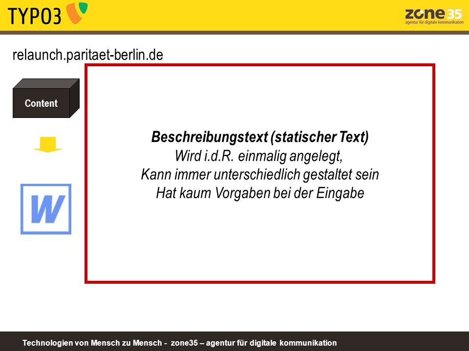Beschreibungstext (statischer Text)