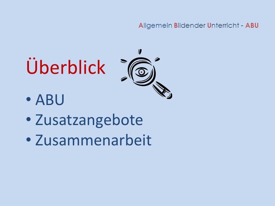 Allgemein Bildender Unterricht - ABU