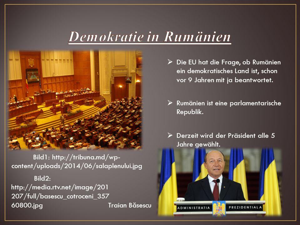 Demokratie in Rumänien
