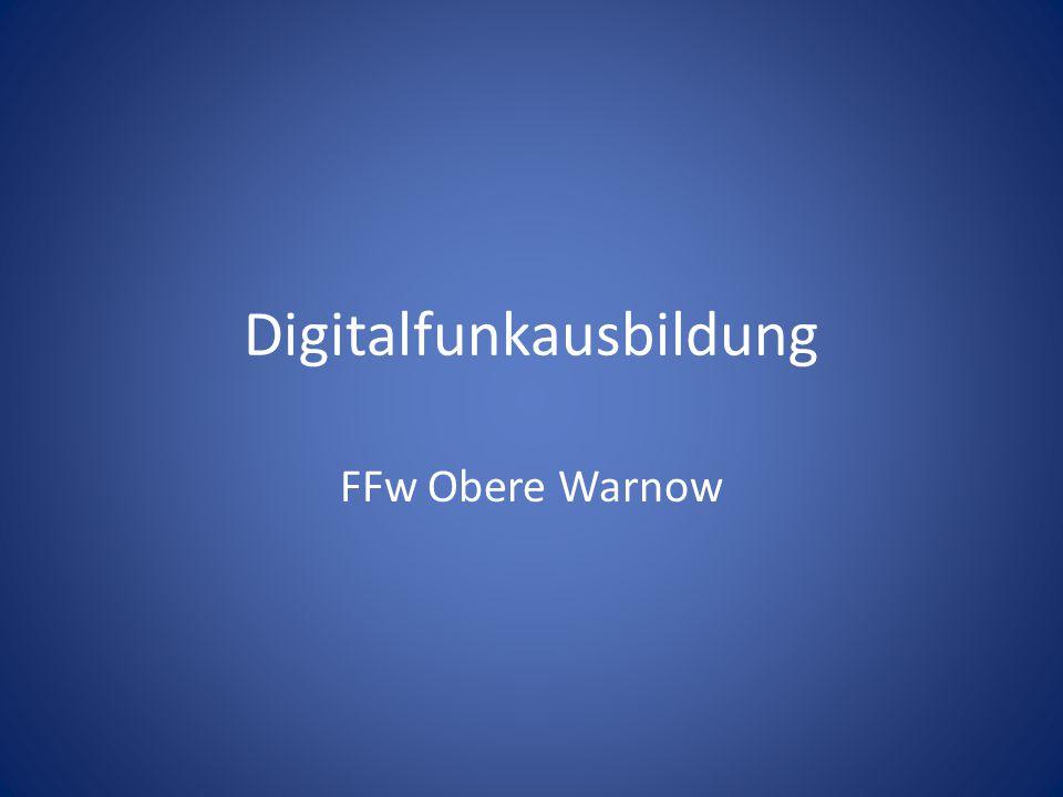 Digitalfunkausbildung