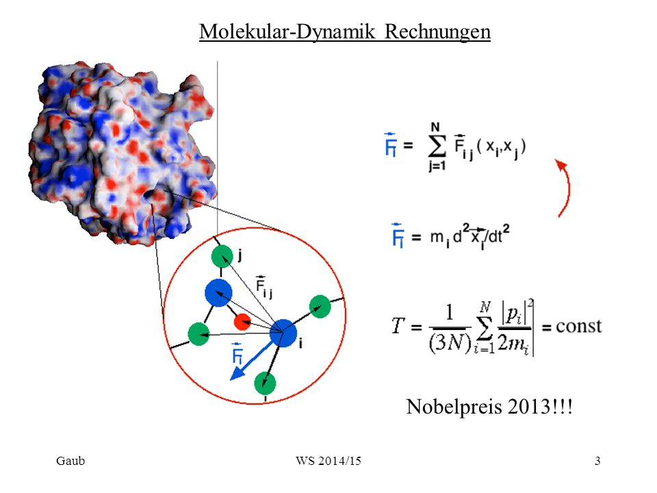 Molekular-Dynamik Rechnungen
