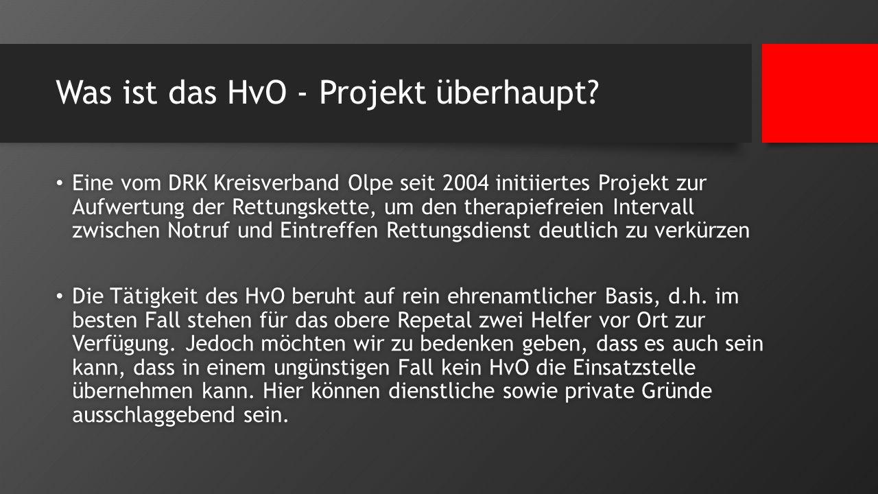 Was ist das HvO - Projekt überhaupt