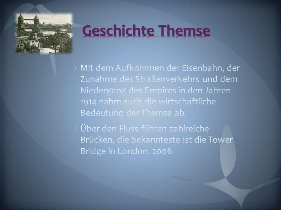 Geschichte Themse