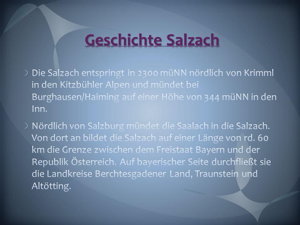 Geschichte Salzach