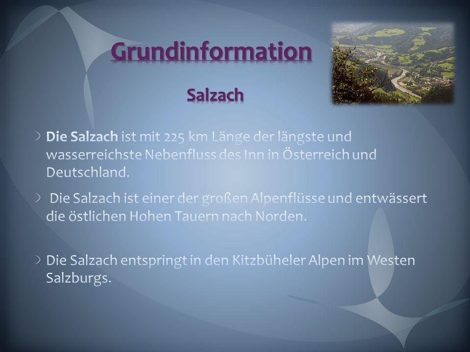 Grundinformation Salzach