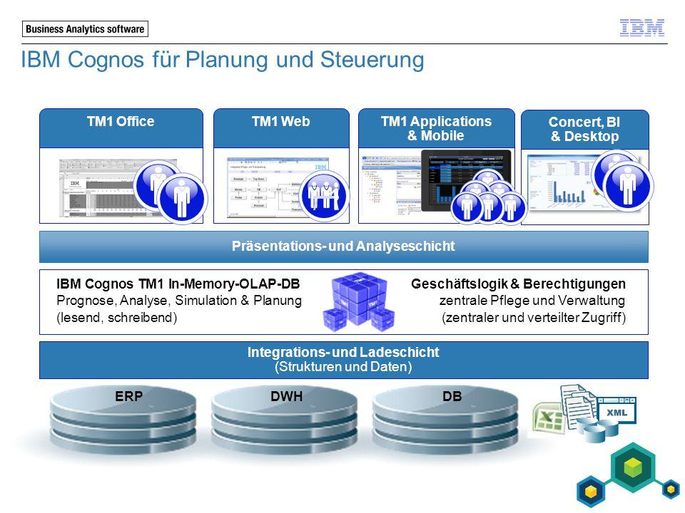 IBM Cognos für Planung und Steuerung