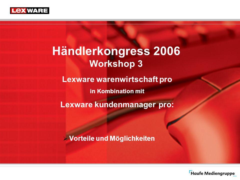 Händlerkongress 2006 Workshop 3