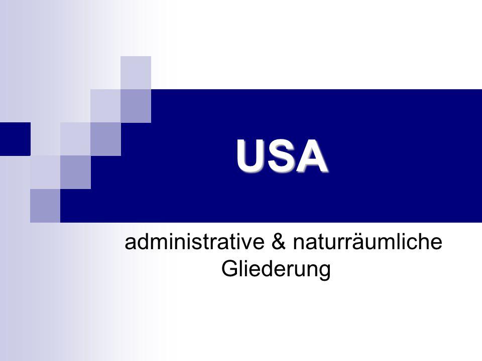 administrative & naturräumliche Gliederung
