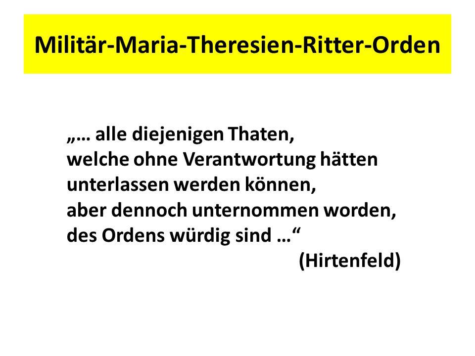 Militär-Maria-Theresien-Ritter-Orden