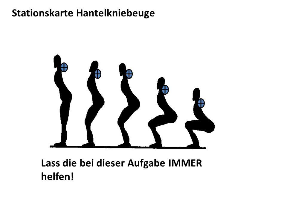 Stationskarte Hantelkniebeuge