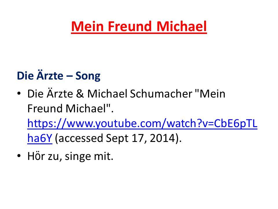 Mein Freund Michael Die Ärzte – Song
