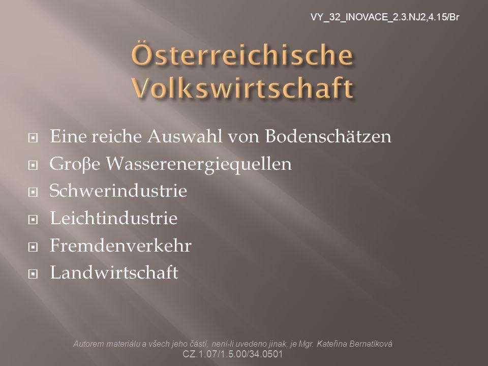 Österreichische Volkswirtschaft