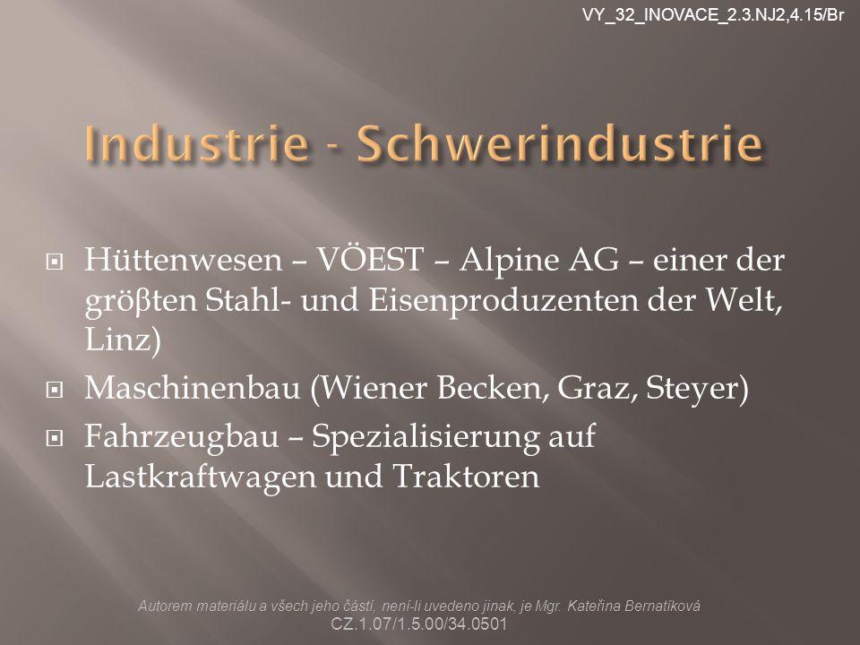Industrie - Schwerindustrie