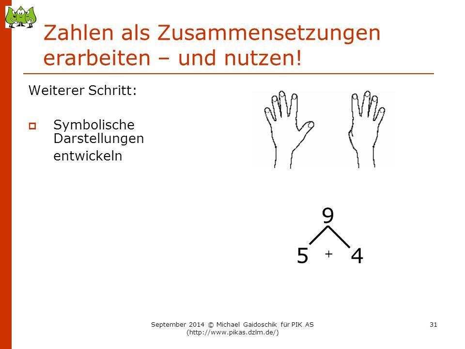 Zahlen als Zusammensetzungen erarbeiten – und nutzen!