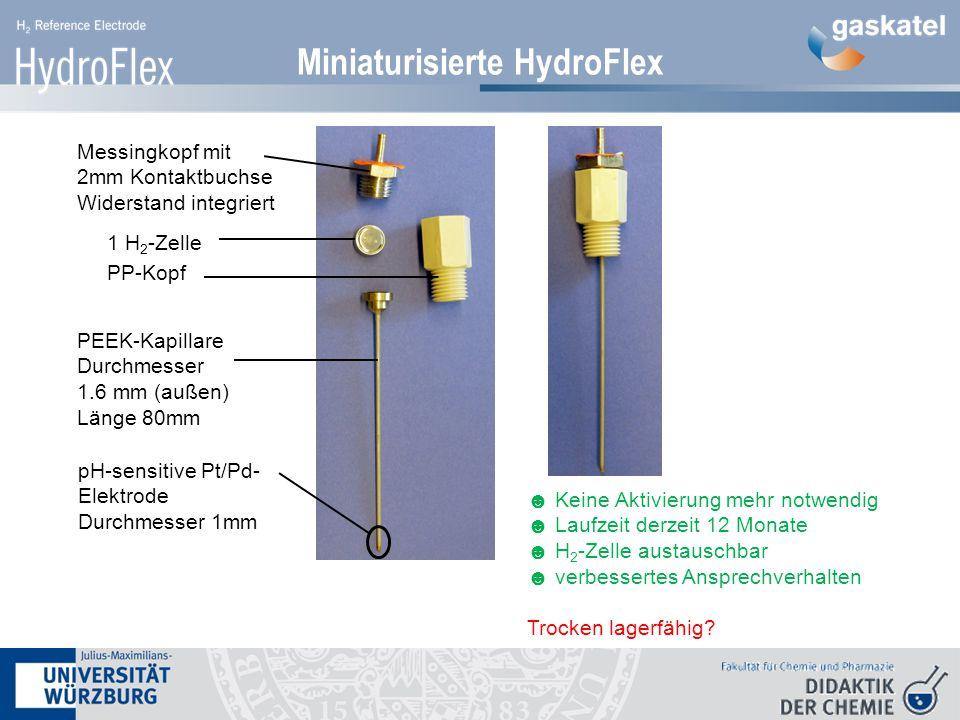 Miniaturisierte HydroFlex Miniaturisierte Variante