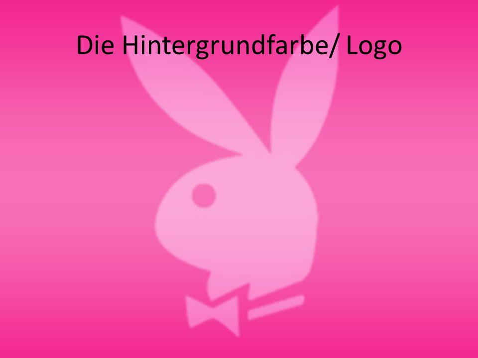 Die Hintergrundfarbe/ Logo