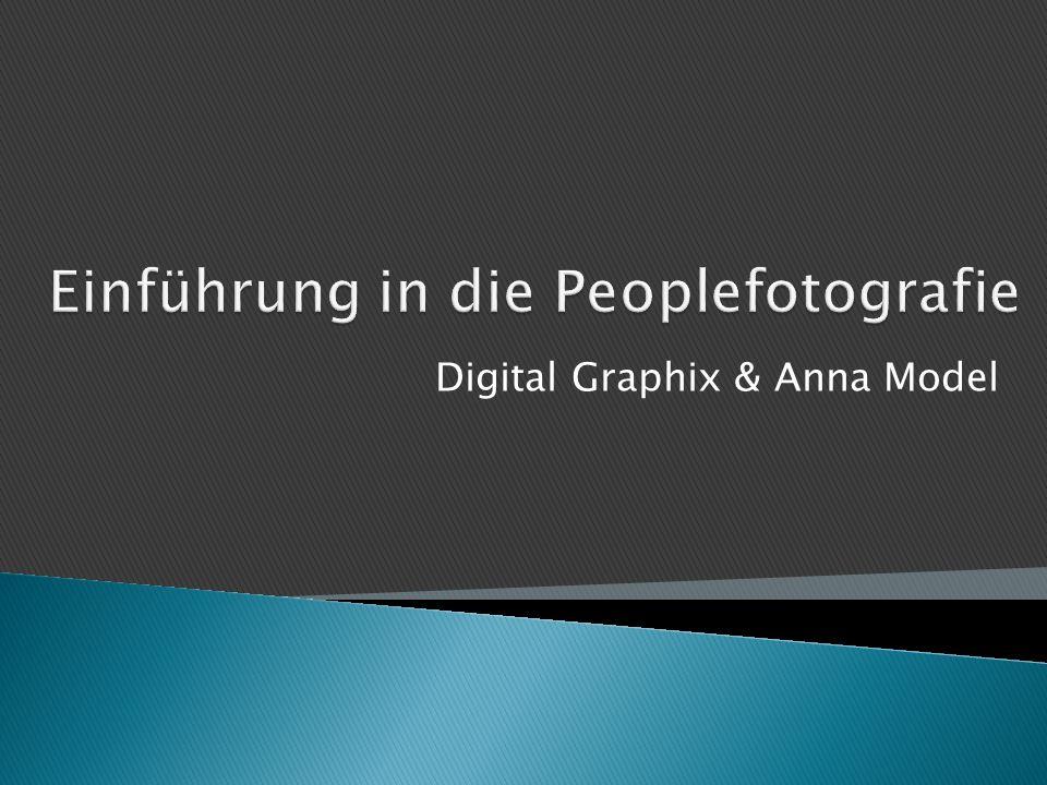 Einführung in die Peoplefotografie