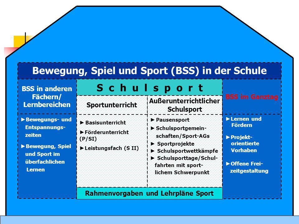 Bewegung, Spiel und Sport (BSS) in der Schule