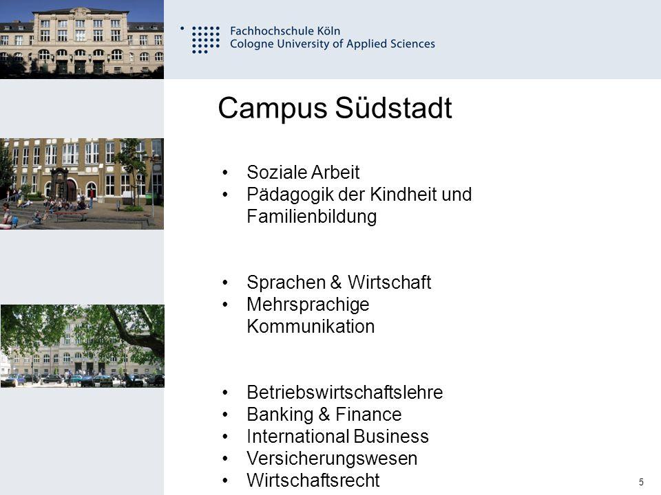 Campus Südstadt Soziale Arbeit