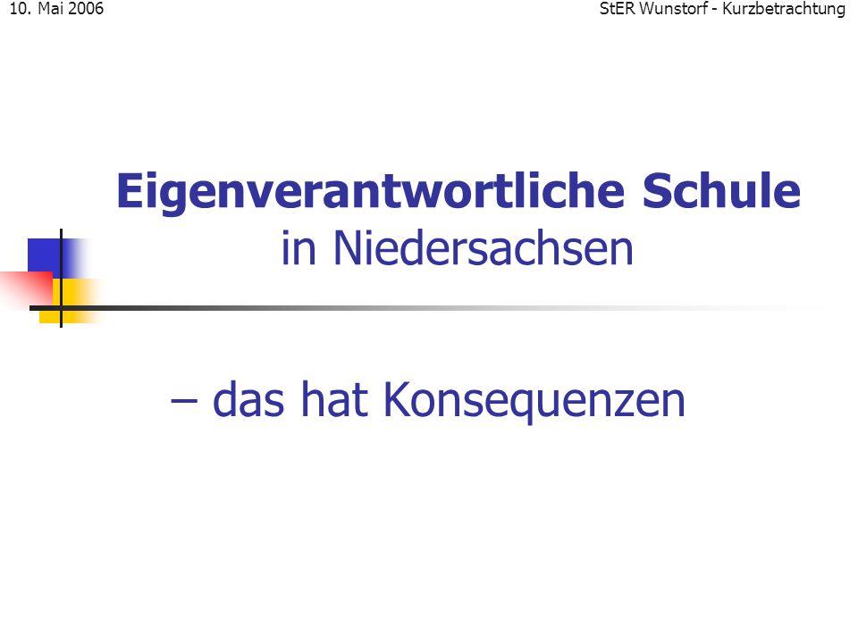 Eigenverantwortliche Schule in Niedersachsen