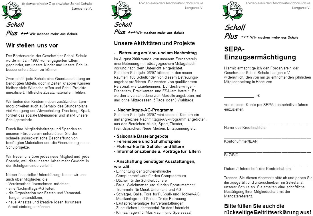 Förderverein der Geschwister-Scholl-Schule Langen e.V.