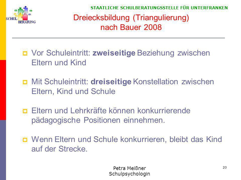 Dreiecksbildung (Triangulierung) nach Bauer 2008