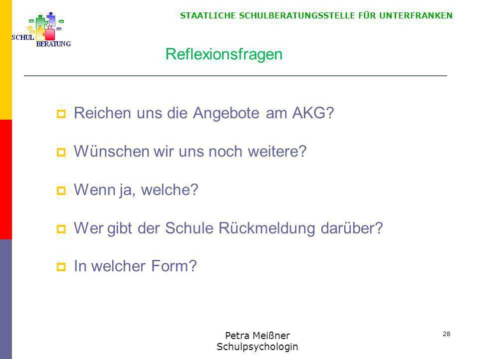 Petra Meißner Schulpsychologin