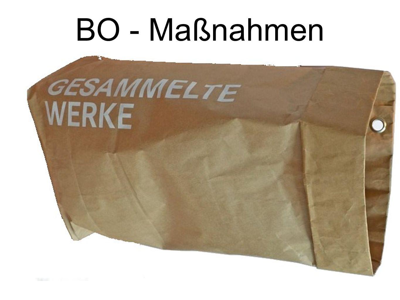 BO - Maßnahmen