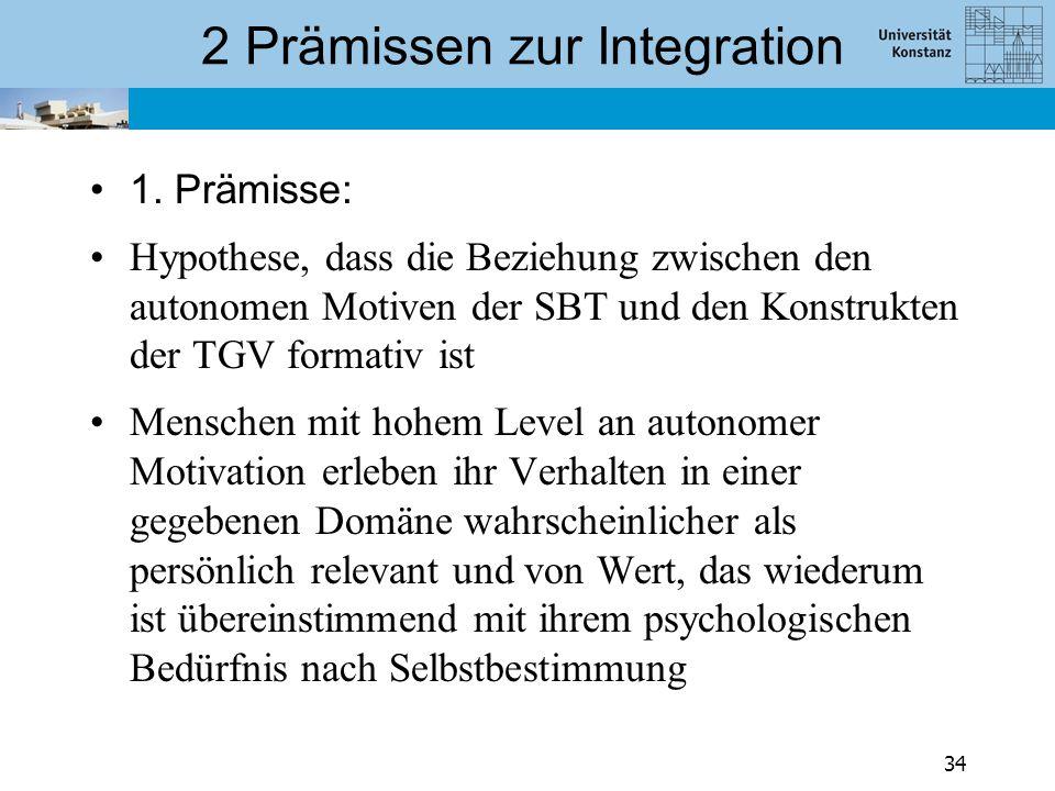 2 Prämissen zur Integration
