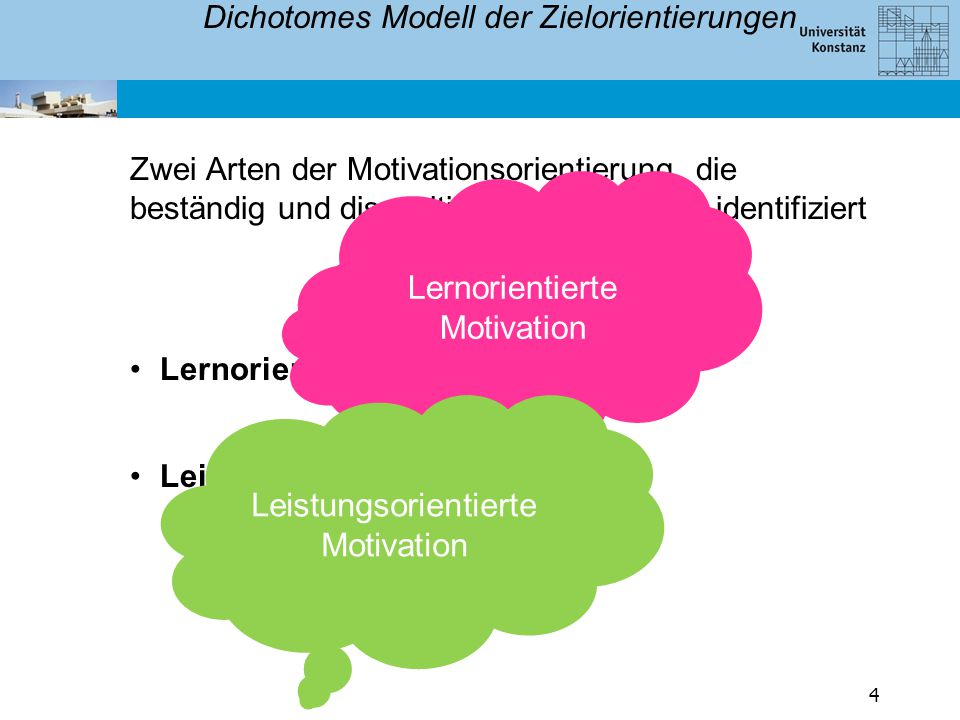 Dichotomes Modell der Zielorientierungen