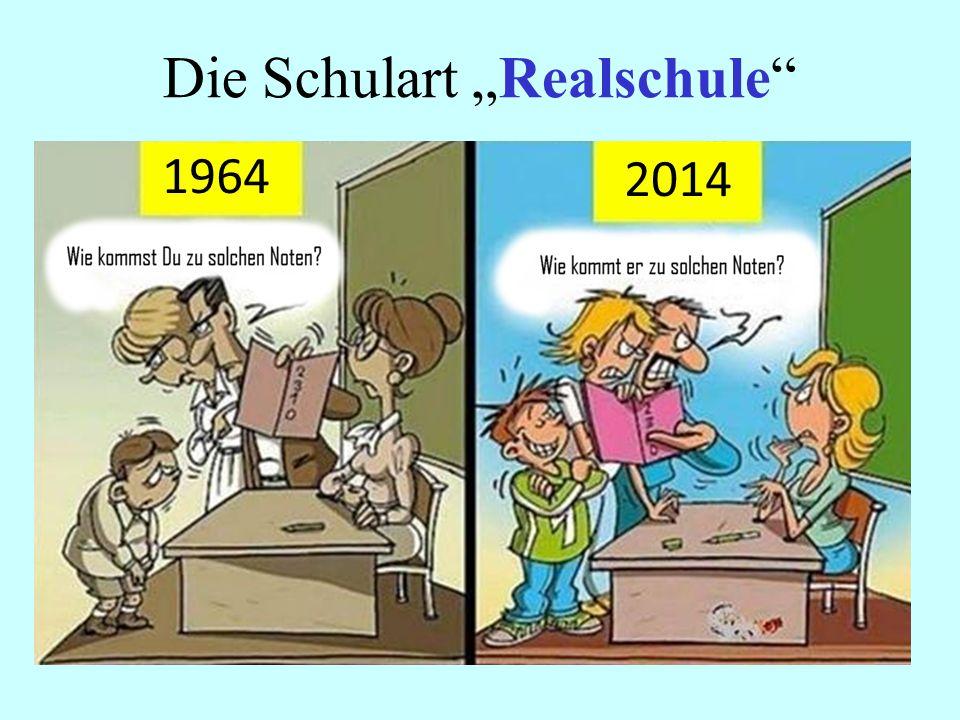 """Die Schulart """"Realschule"""