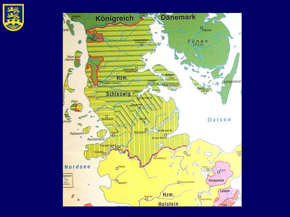 1815 - 1864 Heute: ihr deutsch oder dänisch