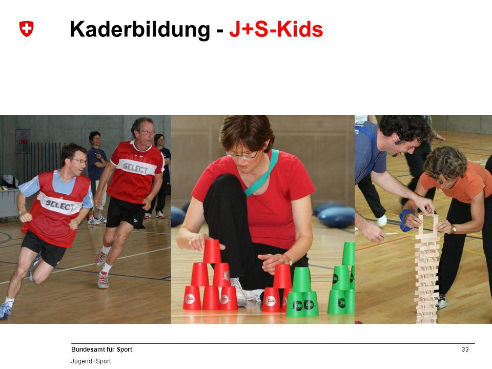 Kaderbildung - J+S-Kids