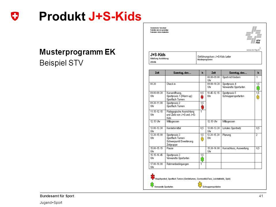 Musterprogramm EK Beispiel STV