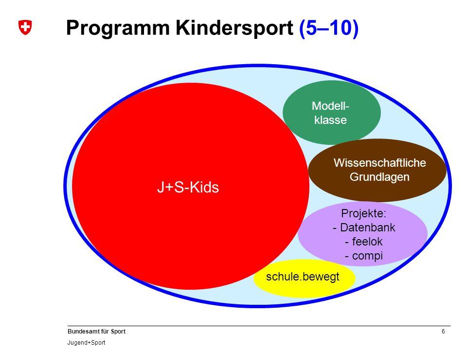 Programm Kindersport (5–10)