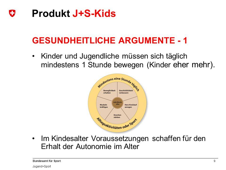 Produkt J+S-Kids GESUNDHEITLICHE ARGUMENTE - 1