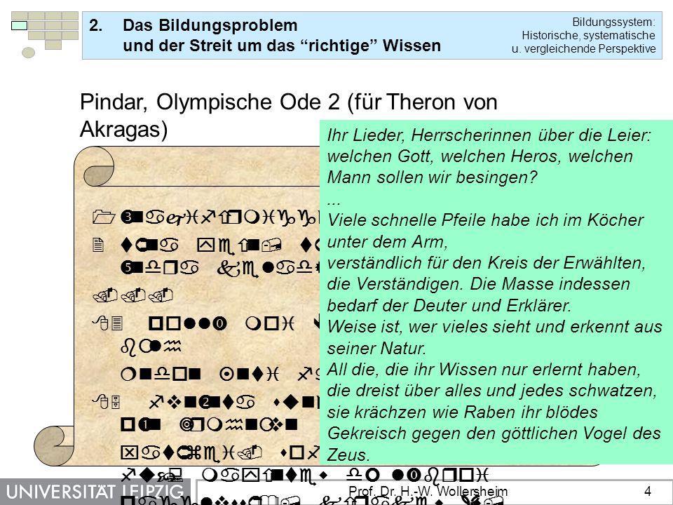 Pindar, Olympische Ode 2 (für Theron von Akragas)