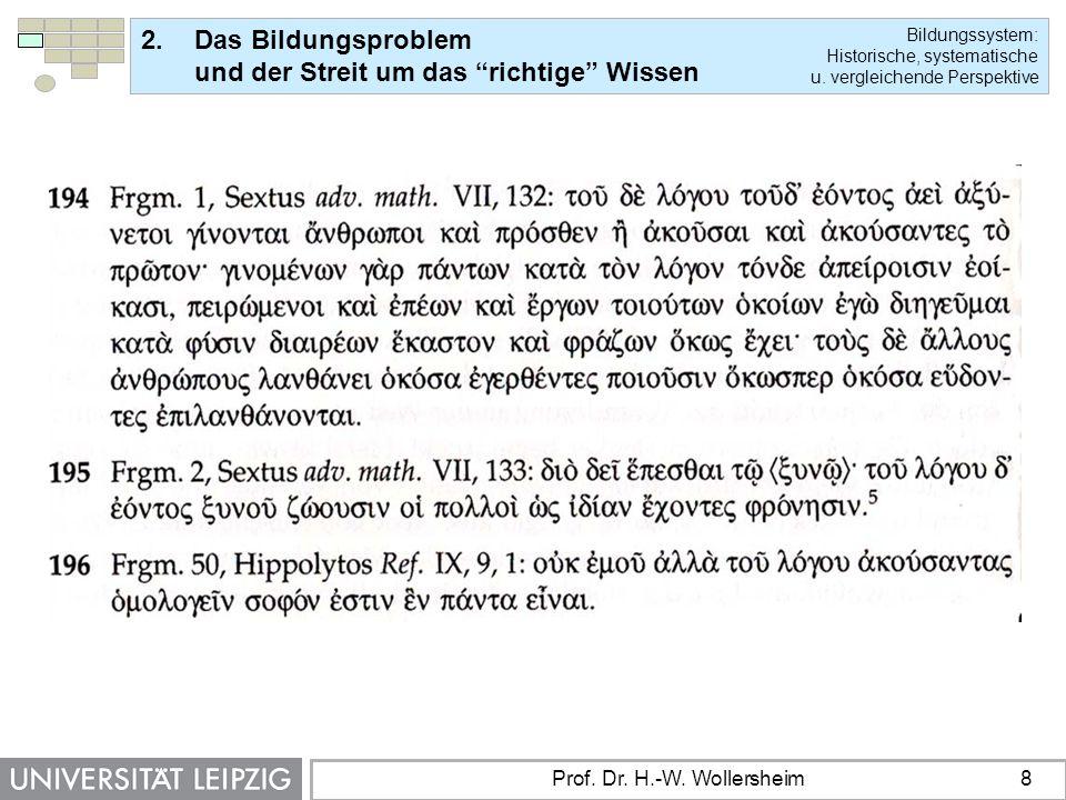 Prof. Dr. H.-W. Wollersheim 8
