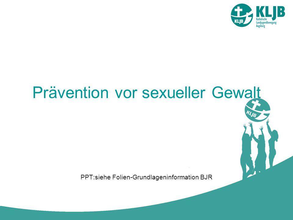 Prävention vor sexueller Gewalt