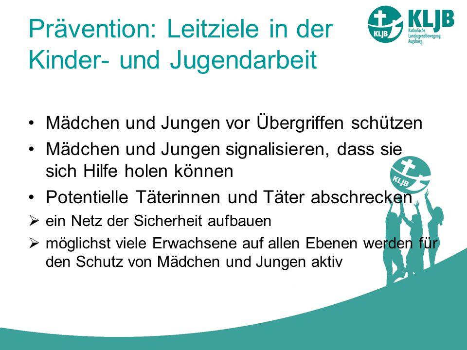 Prävention: Leitziele in der Kinder- und Jugendarbeit